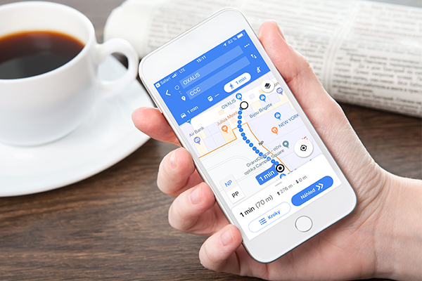 Google Indoor Maps ve Smartphonu