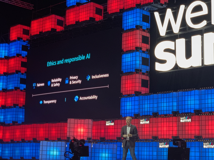 Brad Smith na Web Summitu 2019
